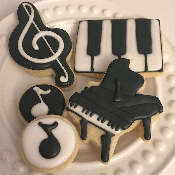 Piano cookies