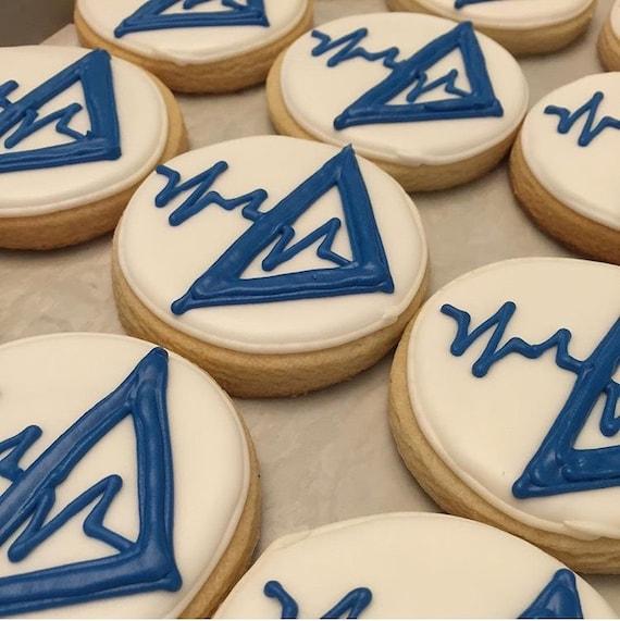 Company Logo Cookies