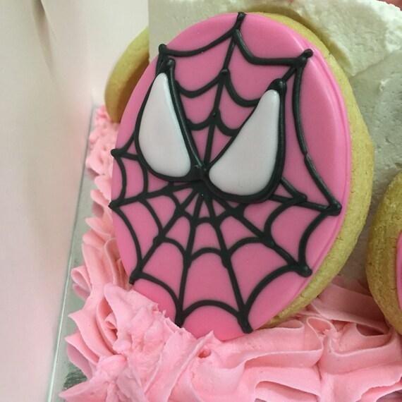 Super hero girl cookies