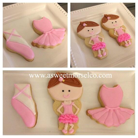 Ballerina Cookie Set