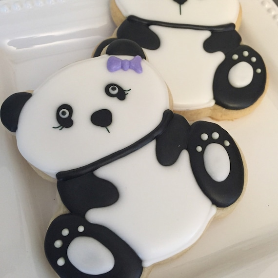 Panda Bear Cookie