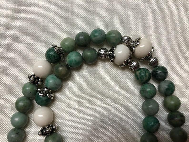 Alaska Aurora Borealis Gold Bearing Jade Hand Crafted One-Of Kind Necklace Original
