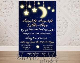 star invitation etsy