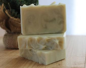 Lavender Rosemary Handmade Soap, Cold Process Soap, Gift Idea