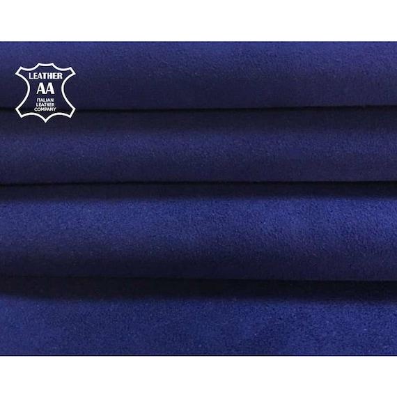 Dark Blue Snake, 12x12In// 30x30cm Genuine Black Calf Hide Leather