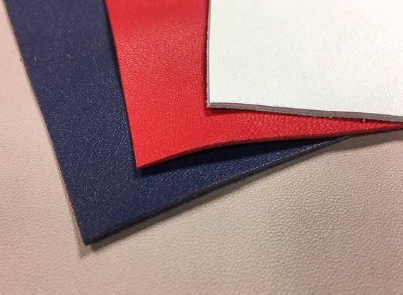 Red Leather Scraps Red Scrap Leather Pieces Leather Sheets For