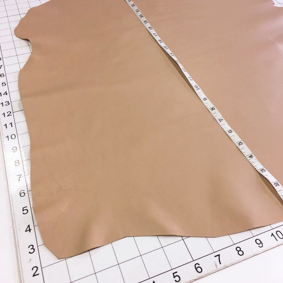 10 Sq.Ft  1.5 oz Thin. Italian Lambskin leather lamb skin hide Aqua Blue