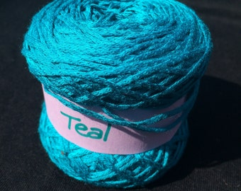 100% Bamboo Sock Yarn in Teal