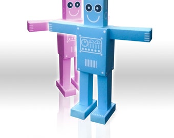 V1 & V2 Paper Robot download