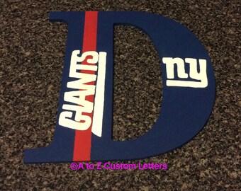 New york giants letter