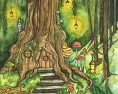 Enchanted Forest Painting...