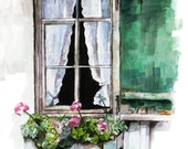 Window Painting - Print f...