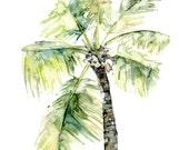 Palm Tree Painting - Prin...
