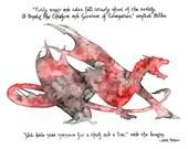 Dragon Painting - Print f...