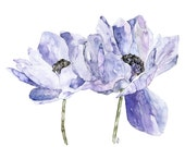 Blue Flower Painting - Pr...