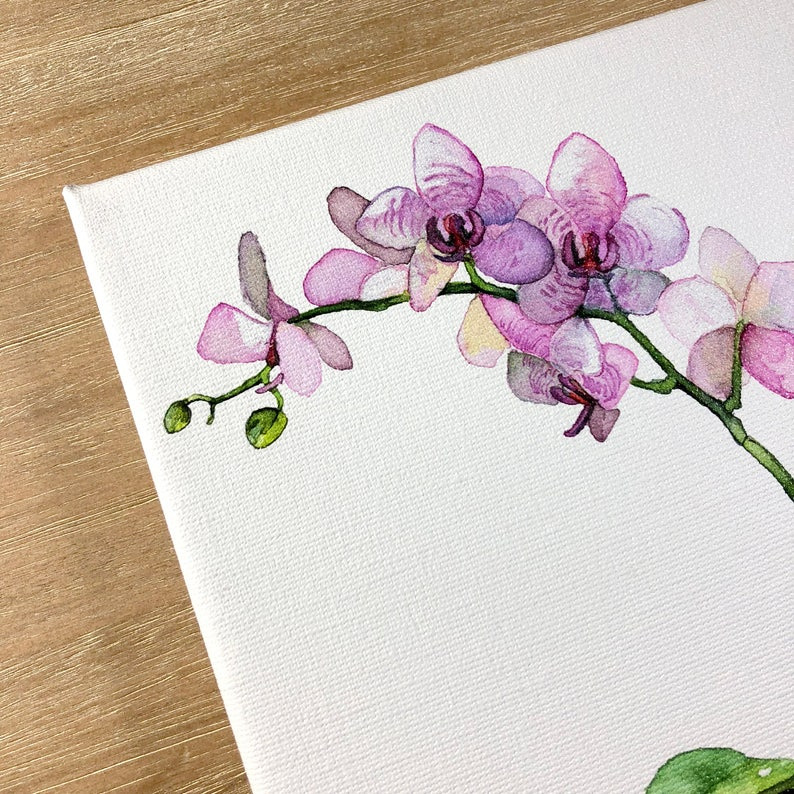Stretched Canvas Canvas Art Watercolor Painting Canvas Wall Art WATERCOLOR CANVAS PRINTS Any 8x10 or 11x14 Canvas Print Artwork Art