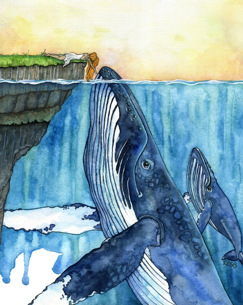 "Wall Art: ""The Fisherman's Daughter"""