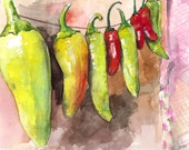 Pepper Painting - Print f...