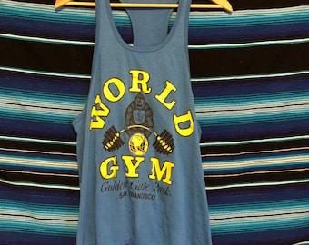 c3b219780 Vintage 1980s World Gym Gorilla Golden Gate Park San Francisco