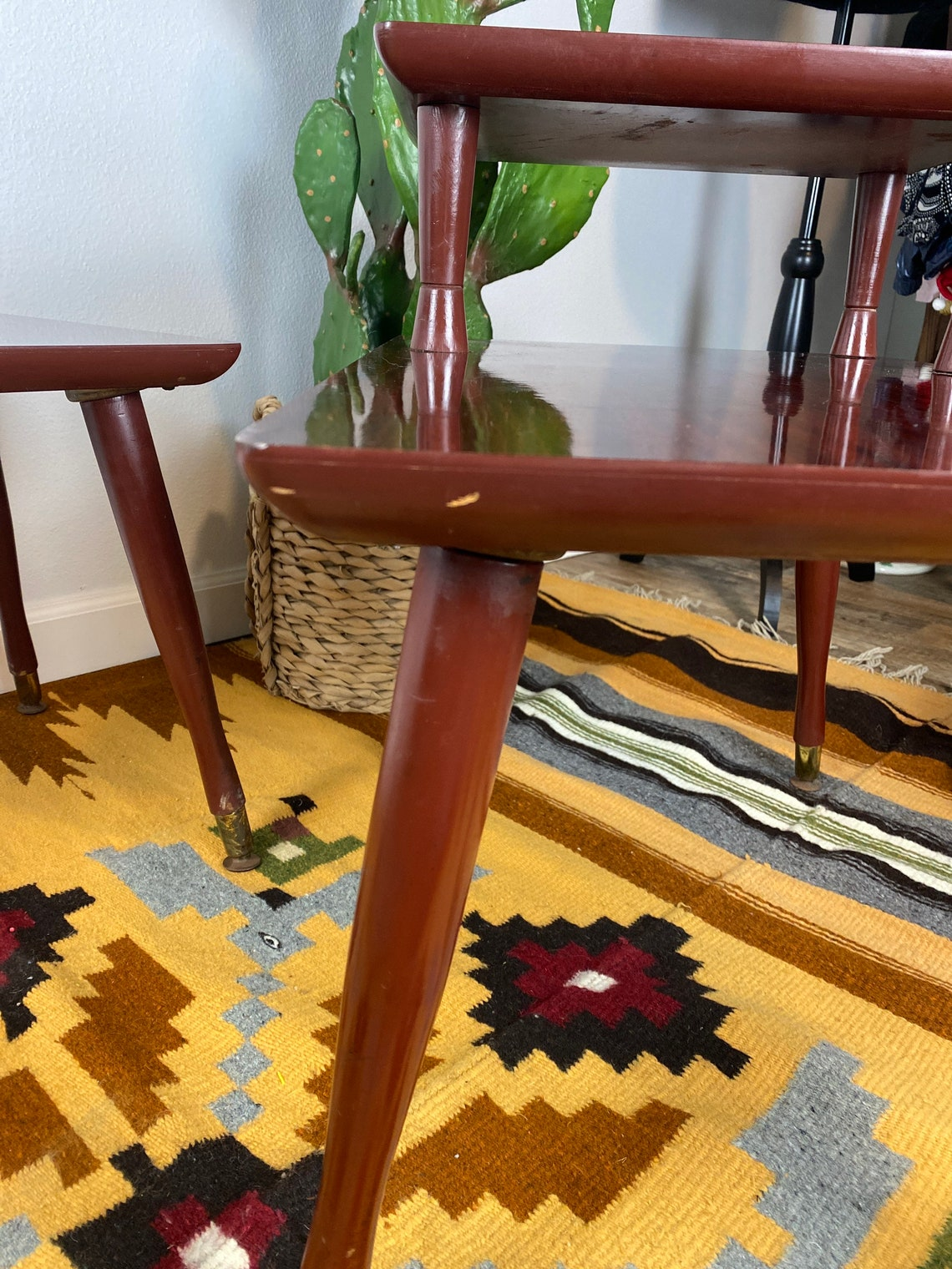 Set of Mid Century End Tables