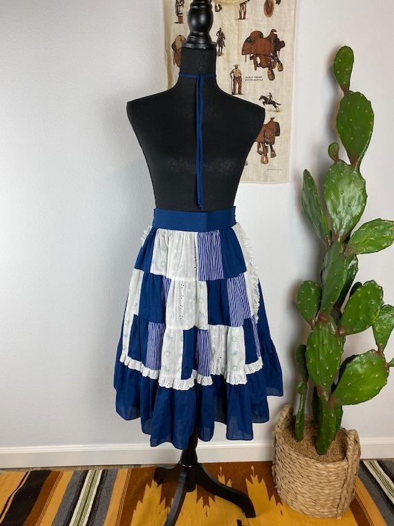 "Vintage Gunne Sax ""Style"" Prairie Skirt Size Large"