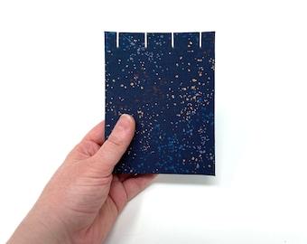 "Pocket Sketchbook, 4"" x 5"", Watercolor Journal, Travelers Notebook, Mix Media Paper, Drawing Paper, Guest book, Sketchbook Journal, NAOMI"