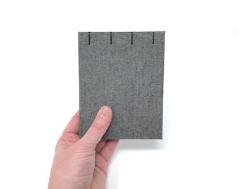 "Pocket Sketchbook, 4"" x 5"", Watercolor Journal, Travelers Notebook, Mix Media Paper, Drawing Paper, Guest book, Sketchbook Journal, JORDAN"