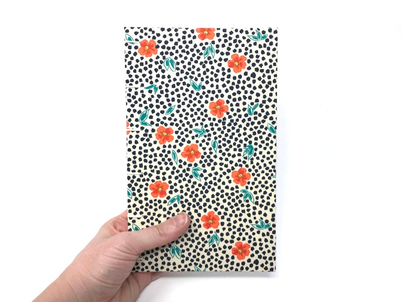 Lined journal with lay flat pages and pocket for notes. image 0