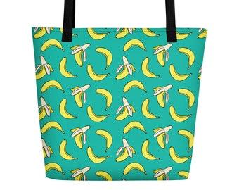 Bananas Beach Bag