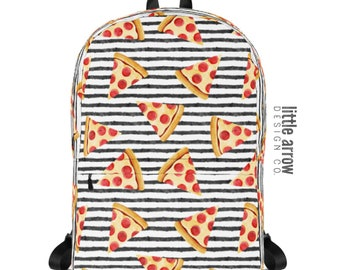 7f45f2a4d73 Pizza on Stripes Backpack