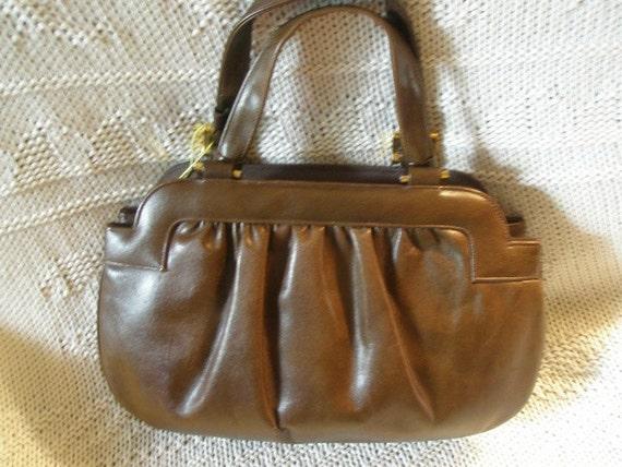 Lewis Leather  Designer  Purse