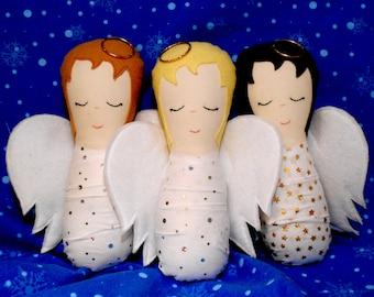 Baby Angel Doll Pattern - PDF Sewing Pattern
