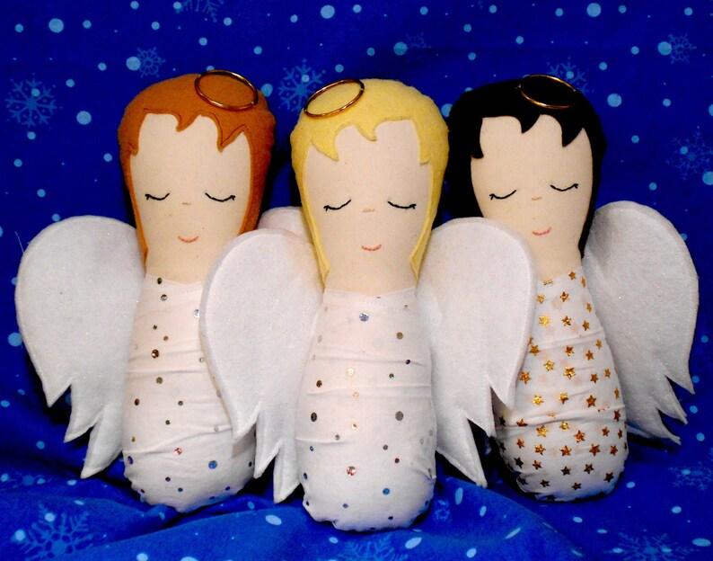 Baby Angel Doll Pattern  PDF Sewing Pattern image 0