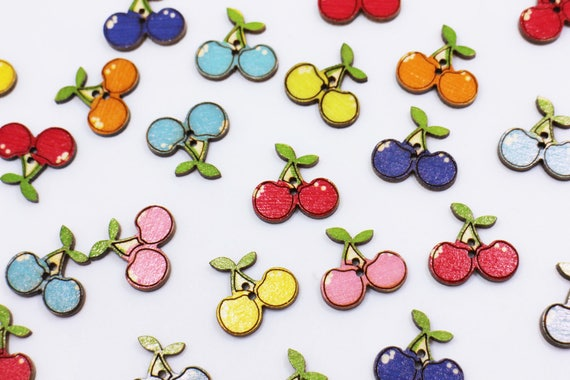 15mm scrapbooking Ideal for sewing card making 6 Resin Coffee bean Buttons