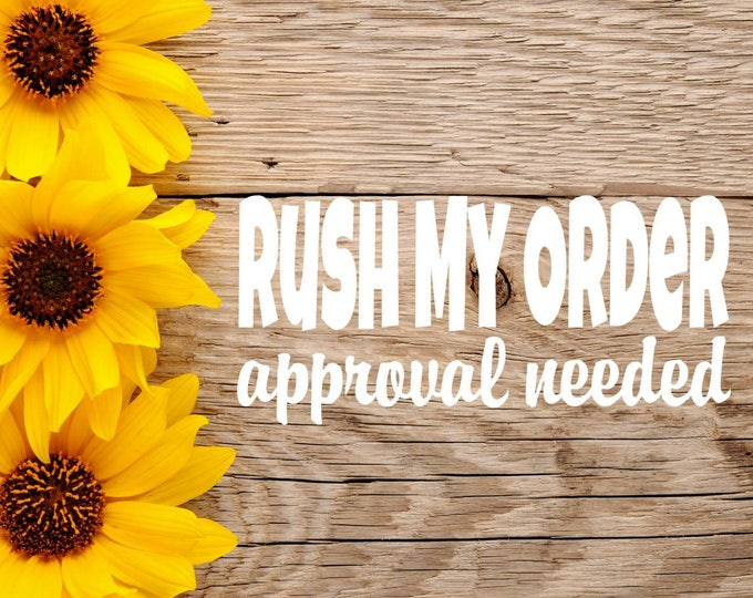 Featured listing image: Rush Order