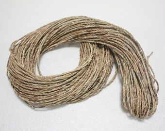 3 MM.Natural Water hyacinth Rope Twisted Cord Craft Decorate handmade 3 7 15 20 yard
