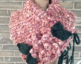 The English Rose Cowl - READY TO SHIP!!!