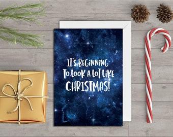Beginning - Christmas Card