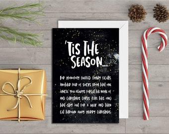 Tis the Season - Greeting's Card
