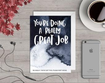 Great Job - Greeting's Card