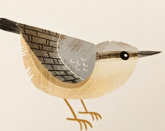 Nuthatch - Limited Edition Art Print