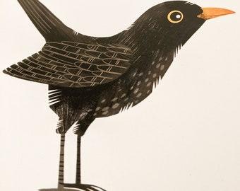 Blackbird - Limited Edition Art Print