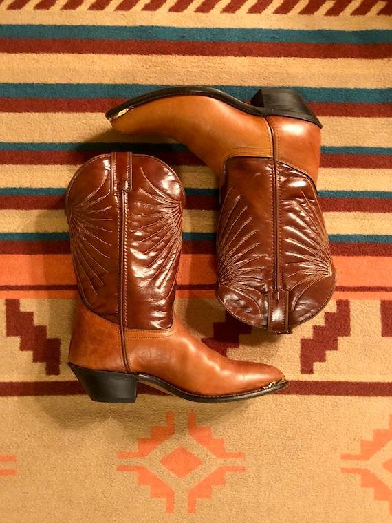 Vintage Laredo Cowboy Boots