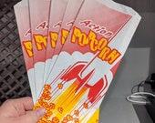 Modern Action Popcorn Rocket Pop Corn Bag - Lot of 5