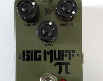 MINI Russian Big Muff style Knob (pack of 3) PUSH fit 6mm spline shaft