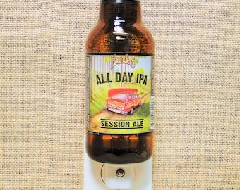 Founder's All Day IPA 12oz. Glass Bottle Night Light