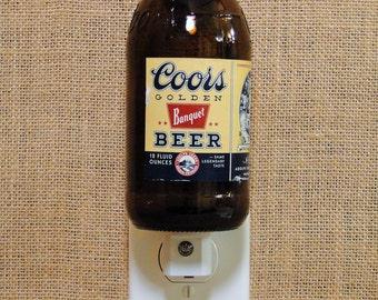 Coors 12oz. Glass Bottle Night Light