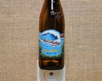 Big Wave 12oz. Glass Bottle Night Light