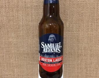 Samuel Adams Boston Lager 12oz. Glass Bottle Night Light