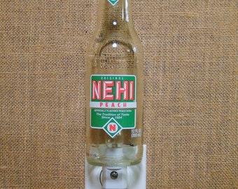 Nehi Peach 12oz. Glass Bottle Night Light